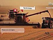 凯斯140和240系列轴流滚筒联合收割机产品介绍视频