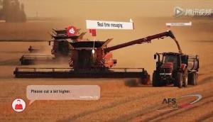 凱斯140和240系列軸流滾筒聯合收割機產品介紹視頻(外文)