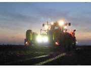 紐荷蘭T7050+格立莫GL420馬鈴薯種植機作業視頻