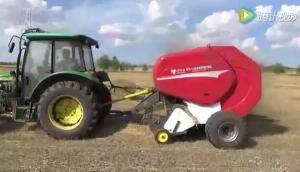 瑞豐農優牧達9YG-1.4A型圓捆秸稈打捆機作業視頻