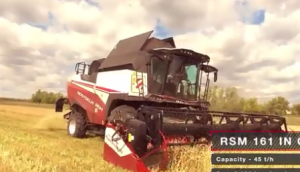 Rostselmash-羅斯托夫收割機產品宣傳
