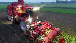 德國荷馬(holmer)Terra Dos T4-40甜菜收獲機作業視頻