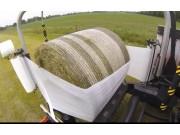 库恩VBP系列圆捆打捆缠膜一体机作业视频