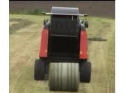 库恩牧草收获机械作业视频
