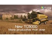 纽荷兰TC系列联合收割机作业视频
