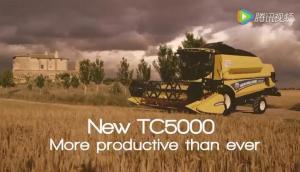 紐荷蘭TC系列聯合收割機作業視頻