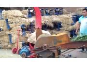 牧昌9R-600型秸稈揉絲機作業視頻
