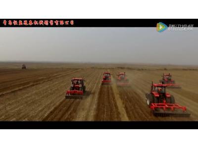 东方红拖拉机青岛演示会