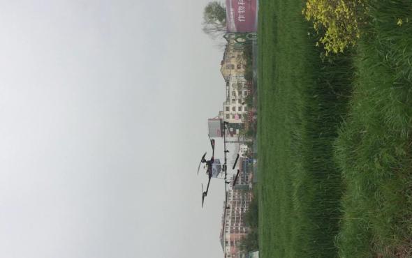 广宇GY-4X-10型植保无人机作业视频