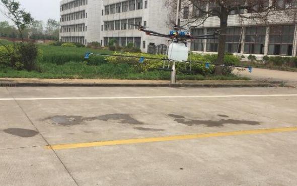 客户自己初飞广宇20公斤植保无人机视频