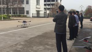 廣宇航空10公斤無人機現場組裝現場試飛視頻