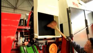 散热除尘系统保养--春雨cn-7小麦收获机的调整保养