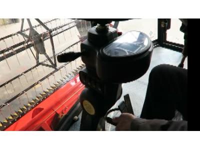 方向机调整及仪器的使用--春雨4LZ-7小麦收获机的调整和保养