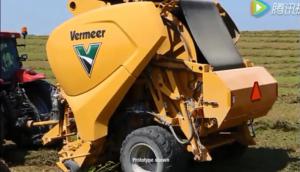 世界上第**臺不間斷打捆的圓捆機-Vermeer威猛公司