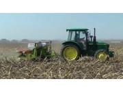 德邦大为2405气吸式免耕精密播种机作业视频