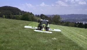 科乐收DISCO系列割草压扁机作业视频