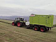 科乐收ARION系列拖拉机作业视频