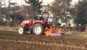 英格索蘭秸稈還田滅茬旋耕機作業視頻
