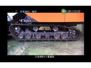 久保田PRO688Q联合收割机日常清扫、维护要点【视频】