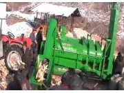 福麟5TY-150玉米脱粒机作业视频