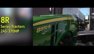 约翰迪尔8R系列拖拉机介绍片——乌鲁木齐奔路农机
