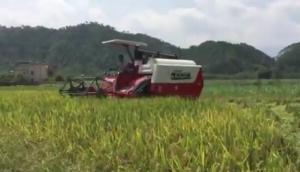 湖南龍舟農機股份有限公司-龍舟4LZ-4.0Z谷物聯合收割機作業視頻