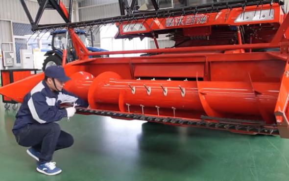 雷沃谷神GE系列小麥機維護與保養視頻