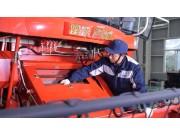 雷沃谷神GF系列谷物收割機維護與保養視頻