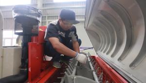 雷沃谷神RG系列水稻機維護與保養