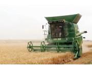 润源4YZ-8大型玉米小麦联合收割机作业视频
