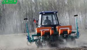 北大荒眾榮2BM-4氣吸式免耕播種機宣傳
