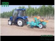 众荣2BMZ-2Q牵引免耕精密指夹式播种机作业视频