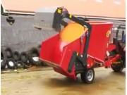 德国倍威力BVL V-Mix-TMR饲料搅拌车作业视频