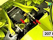 科乐收(CLAAS)青贮收获机ORBIS系列割台调整喂入盘内部刮板
