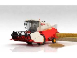 福田雷沃谷神GN70小麦收割机3D作业演示