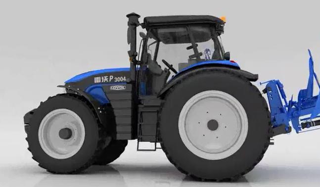 雷沃P3004-N 拖拉机3D演示