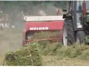 方草捆压捆机的使用与维护