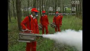 广益6HYC-25烟雾机作业视频