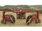 意大利赛特利斯Sltrx Pr017大型搂草机作业视频