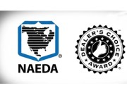 """威猛公司连续四年获得北美经销商协会(NAEDA) 最佳 """"经销商选择"""" 奖"""