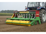 大华宝来小麦宽幅宽苗带施肥精量播种机作业视频