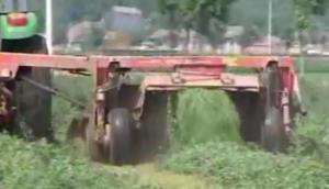 旋轉式割草壓扁機的使用維護