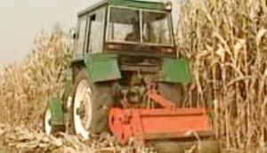 玉米秸秆根茬机械化还田技术