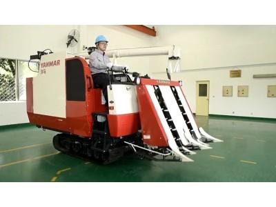 洋马AG600半喂入收割机操作保养视频