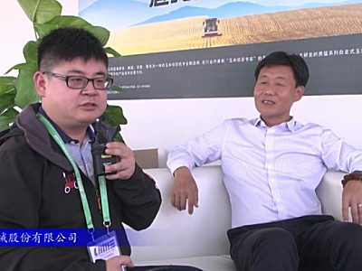 王勇:拖拉機是勇猛打造玉米全程機械化的重要一步