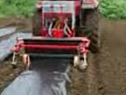 成帆各种蔬菜种植起垄开沟机作业视频