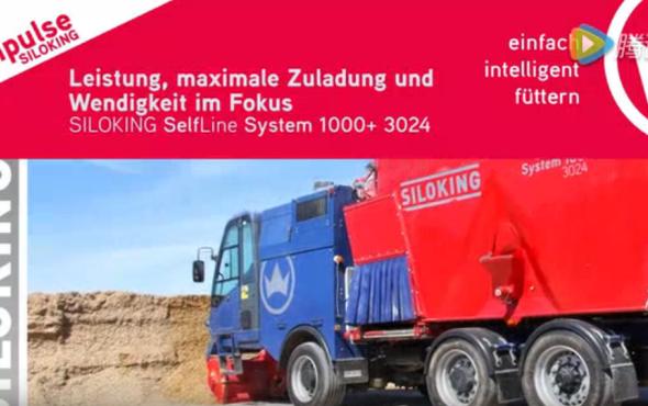 斯諾金SelfLine System1000飼料攪拌車