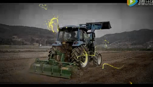 韩国乐星拖拉机宣传片