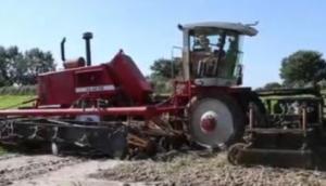Agrifac公司ZA-215-EH型洋蔥收獲-作業視頻