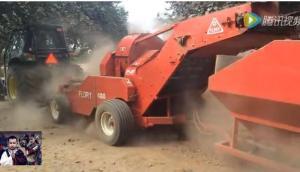Flory公司480型坚果收获机-作业视频